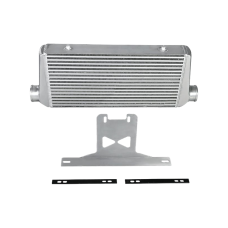 """3"""" Core Intercooler + Mounting Bracket Kit For 2015 + Ford Mustang GT V8 5.0"""