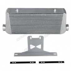 "4"" Core Intercooler + Mounting Bracket Kit For 2015 + Ford Mustang GT V8 5.0"