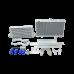 Intercooler Radiator Hard Pipe Bracket Kit For 86-91 RX7 RX-7 FC 2JZ 2JZGTE