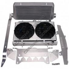 Intercooler Radiator Shroud Fan For Chevrolet Corvette C6 LS LS3 NA-T Turbo