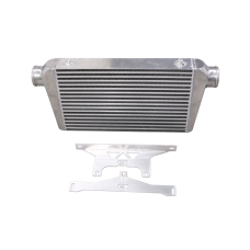 "Intercooler + Mounting Bracket for 75-78 Nissan 280Z Fairlady Z 3"" Inlet Outlet"