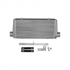 """Turbo Intercooler + Bracket For 79-93 Ford Mustang 5.0 Fox Body 4"""" Core IC"""
