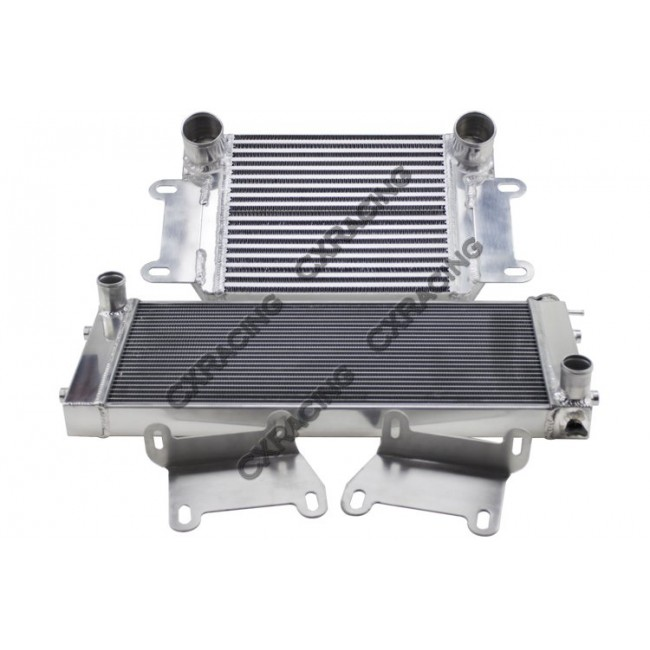 Intercooler Radiator Bracket Kit For Nissan Datsun 510 Swap Sr20det Ka24de 13b