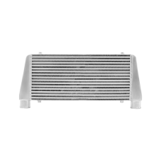 "Universal Bar & Plate 2.5"" Inlet V-Mount Intercooler 29.5x11x3"