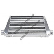 "Universal Front Mount Turbo Intercooler Tube & Fin 25""x11.5""x2.75"""