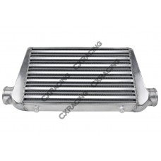"""3"""" Inlet & Outlet Tube&Fin FMIC Intercooler 25x11.75x3 For RX7 RX8 Mazda"""