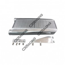 "26""x13""x3.5"" Intercooler + Brackets For 79-93 Fox Body Mustang V8"