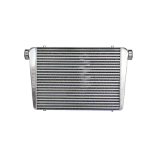 """Huge Turbo Intercooler 31""""x18""""x4"""" 4"""" Core: 24""""x18""""x4"""" 3"""" Inlet Outlet For F150 F250 Ram GMC Silverado"""