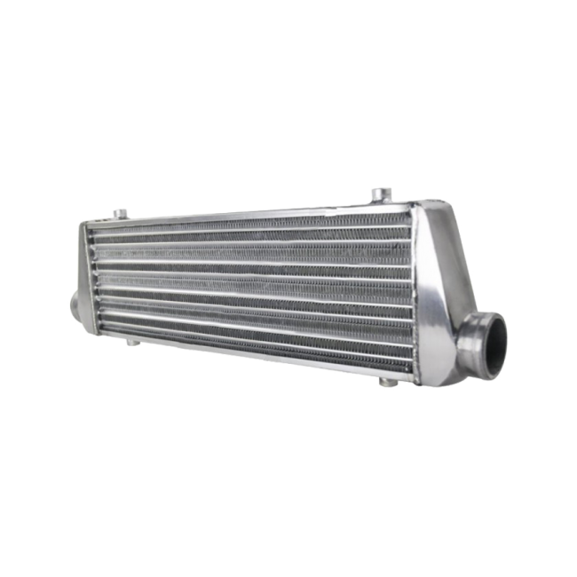 """Aluminum Intercooler For Ford Mazda 2.5/"""" I//O 25/""""x12/""""x3/"""" Inlet//Outlet Tube /& Fin"""