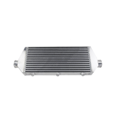 """2.5"""" Inlet & Outlet 28x9x3 Intercooler For RX7 ECLIPSE SAAB BMW"""