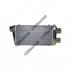 """Universal 3"""" Thick TWin Turbo Intercooler 31""""x12""""x3"""" For Ford Audi BMW VW"""