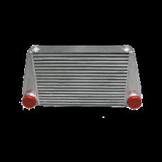"""V-Mount Turbo Universal Intercooler 3.5"""" Thickness For BMW E90 E91 E92"""