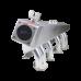 Turbo Exhaust Intake Manifold Fuelrail Downpipe Kit For 280Z Fairlady Z L28E L28