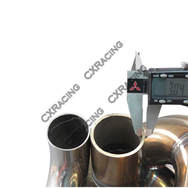 11 Gauge Turbo Manifold For Civic Integra Dc5 Rsx K20