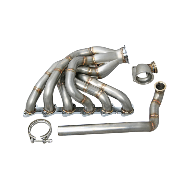New V2 Turbo Exhaust Manifold for 84-91 BMW E30 M20 Engine
