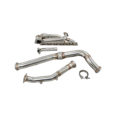 T3 Top Mount Turbo Manifold Downpipe For BMW E46 M52 M54 Engine NA-T