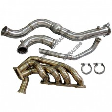11 Gauge Turbo Manifold Downpipe Dump Tube For HONDA S2000 F22 Engine