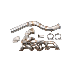 T3 Turbo Exhaust Manifold Downpipe For Nissan 280Z Fairlady Z L28E L28 Engine