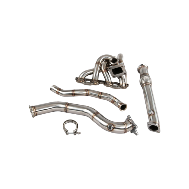 Top Mount Turbo Manifold   Downpipe For 90