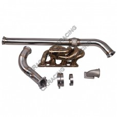 Thick Wall Turbo Manifold Downpipe For Nissan Datsun 510 S13 SR20DET Swap