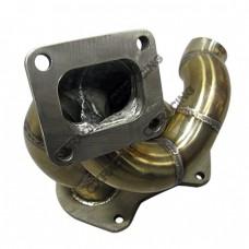 "Turbo Exhaust Manifold For Mazda 1st Gen FA/FB RX-7 13B RX7 2.25"" Runner"