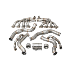 Twin Turbo Manifold Downpipe Kit For 67-69 Chevrolet Camaro BBC Big Block