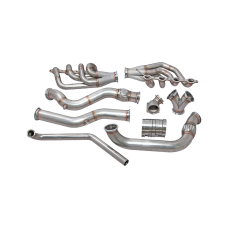 Single Turbo Manifold Downpipe For 74-81 Chevrolet Camaro LS1 Engine