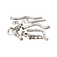 Header Manifold Downpipe Kit For 79-93 Mustang 5.0 T70 T4 Fox Body