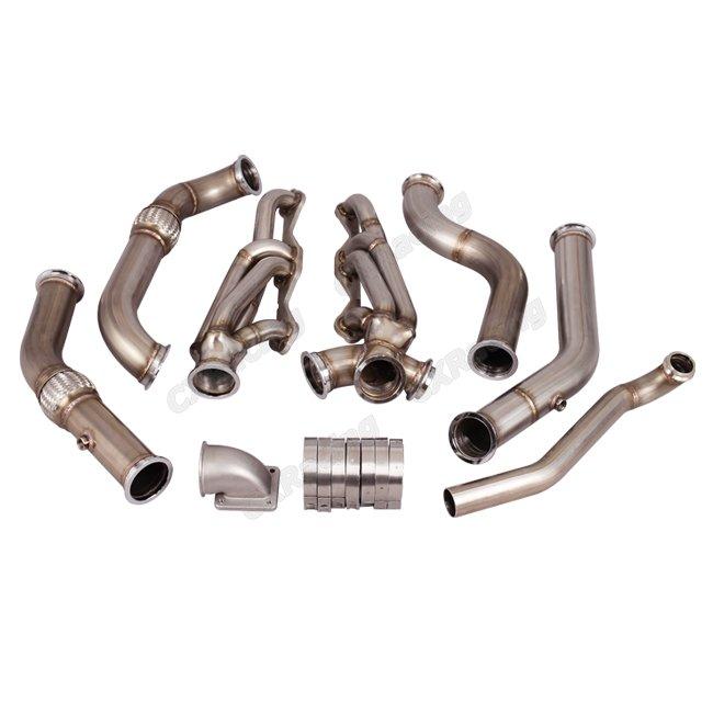 Manifold Header Kit For Small Block SBC Engine 67-69