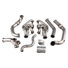Turbo Manifold Header Downpipe For 74-81 Chevrolet Camaro SBC Small Block