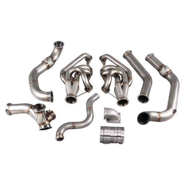 turbo manifold header downpipe for 74