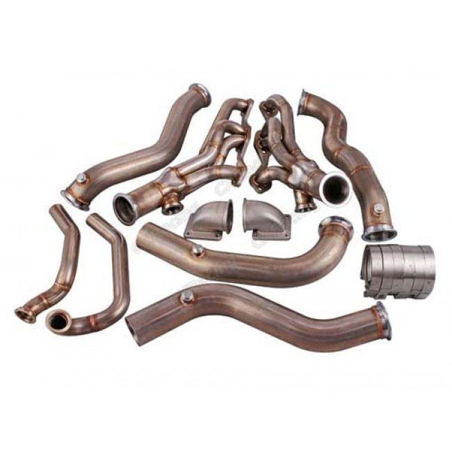 Twin T4 Turbo Header Manifold Kit For 82-92 Chevrolet