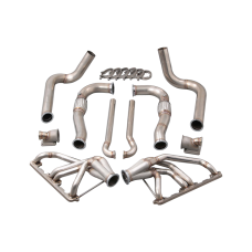 Twin Turbo Manifold Downpipe Kit for 67-76 Dodge Dart with Small Block Engine