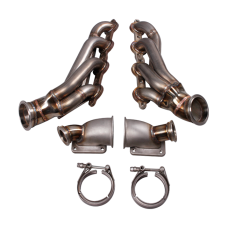 Twin Turbo Header Manifold Kit For G-Body LS1 LS Motor Cutlass Grand National