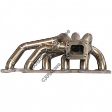 Top Mount T4 Turbo Thick Wall Manifold For RB26 RB26-DETT Engine 46mm WG Flange