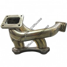 Stainless Steel Turbo Manifold For 86-92 Mazda RX-7 RX7 FC 13B