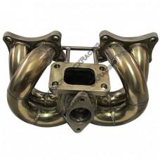 Stainless Steel Turbo Manifold For 89 90 Nissan 240SX S13 KA24E SOHC