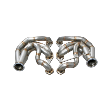 Twin Turbo Manifold Header For 60-66 Chevy C10 Truck SBC Small Block