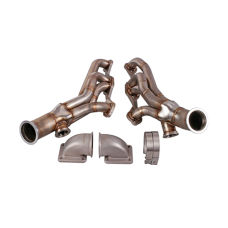 Twin Turbo Header Manifold Elbow For 82-92 Chevrolet Camaro SBC Small Block