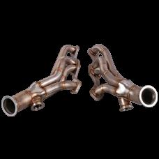 Twin T4 Turbo Manifold Kit For 82-92 Chevrolet Camaro SBC Small Block NA-T