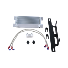 Transmission Oil Cooler Kit For Chevy Colorado GMC Canyon  2.8 Duramax Stock IC