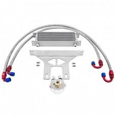 External Engine Oil Cooler Bracket Kit For Hyundai Genesis Coupe 2.0T GC