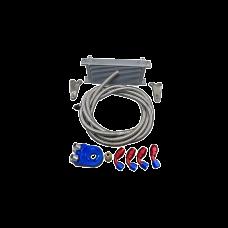 16 Row Engine Oil Sandwich Fitting Line Cooler Kit for 240SX S13 S14 SR20DET SR20