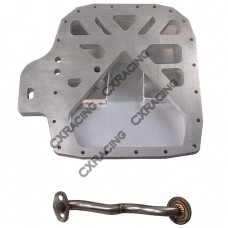 Aluminum Rear Sump Oil Pan for RX7 FC 13B Rotary Engine Datsun 510 Swap