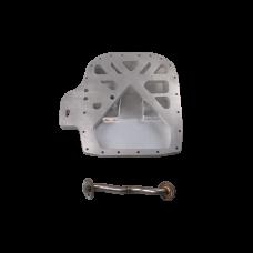 Aluminum Rear Sump Oil Pan for RX7 FC 13B Rotary Engine Datsun 510 Swap