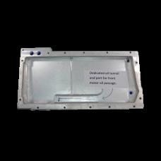 Alum Dry Sump Oil Pan For LS1 LSx LS Engine Motor AN-12 AN-10 AN-8 Ports