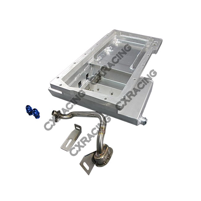 Best Ls1 Engine Upgrades: LS1 Oil Pan + Dipstick Front Sump + Tanny Cover For 240SX