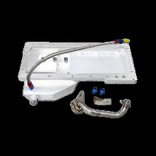 240SX S13 S14 Motor Swap LS1 LS Oil Pan + Dipstick Front Sump