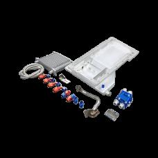 LS1 LS Oil Pan Front Sump Motor Swap+Cooler Sandwitch For 240SX S13 S14