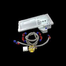Aluminum Oil Pan Filter Relocation Kit for LS1 LS Chevrolet Chevelle
